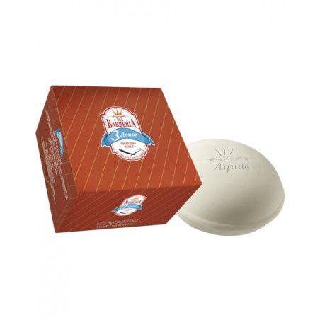 Pastilla de Jabón de Afeitar AQUAE de Vía Barbería by Omega de 150 grs.