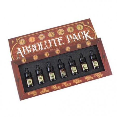 "Pack ""ABSOLUTE SELECCION"" de HEY JOE con 7 Aceites para la Barba"