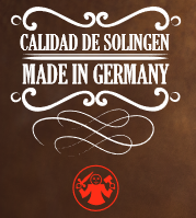 Made in Germany - Fabricado en Solingen Alemania